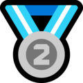 :second-place-medal: